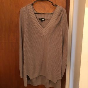 Express Sweaters - Lavender oversized sweater
